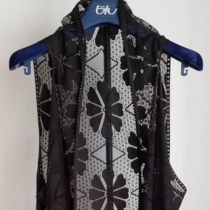 Best Ever Travel Trendy Long Black Vest